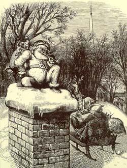 Harper's Weekly Santa 1874
