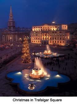 Christmas in Trafalgar Square