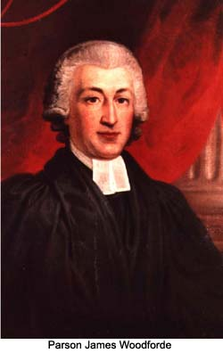 Parson James Woodforde