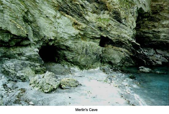 Merlin's Cave Tintagel