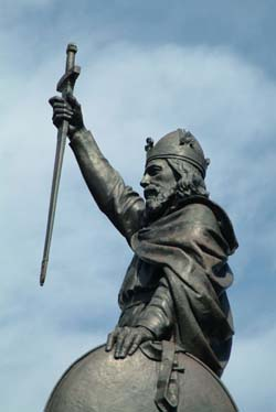 King Alfred Statue Winchester