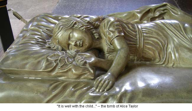 Alice Taylor tomb