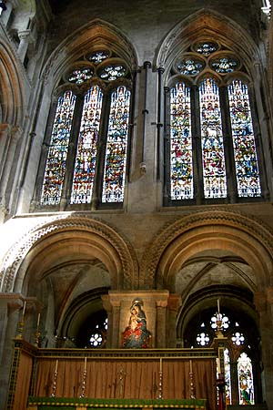Romsey Abbey altar