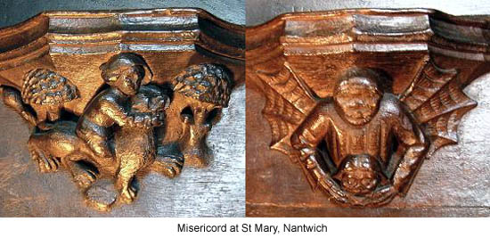 St Mary at Nantwich Misericord