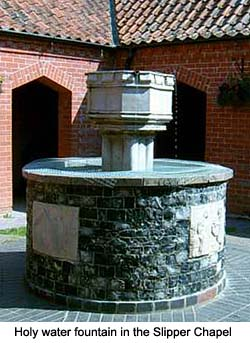 Walsingham Slipper Chapel Fountain