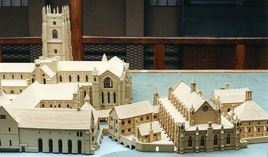 Fountains Abbey Model