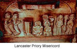 Lancaster Priory Misericord