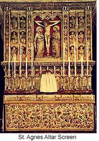 St Agnes Liverpool Altar Screen