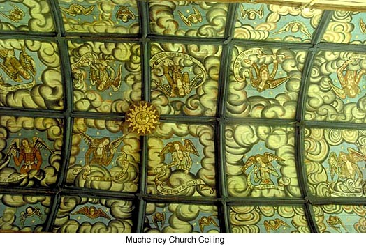 Muchelney Church Ceiling
