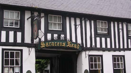 Saracen's Head Hotel Southwell