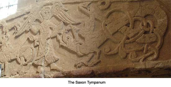 Saxon Tympanum Southwell Minster