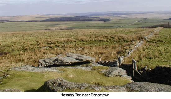 Princetown Hessery Tor Dartmoor