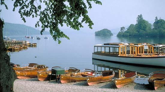 Boats at Lake Windermere