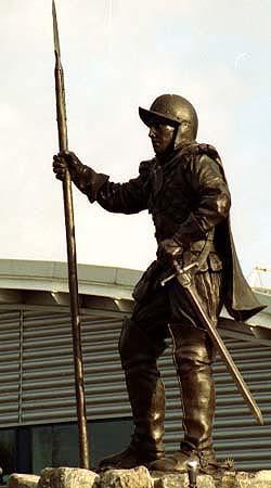Reiver Statue