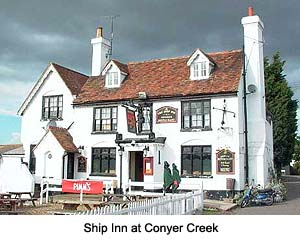 Ship Inn at Conyer Creek