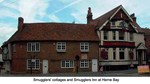 Smugglers' Cottages Herne Bay