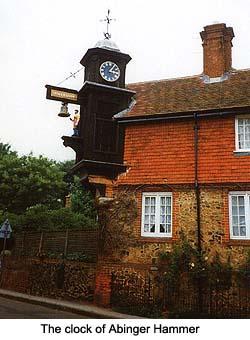 Abinger Hammer Clock