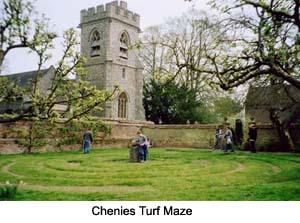 Chenies Turf Maze