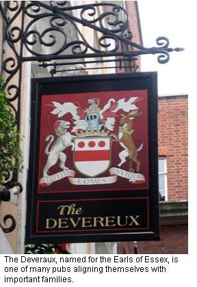 Devereux Pub Sign