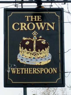 Pub Sign: The Crown