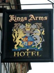 Pub Sign: The Kings Arms