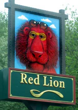 Pub Sign: The Red Lion