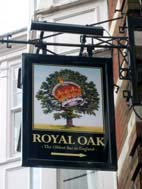 Pub Sign: The Royal Oak