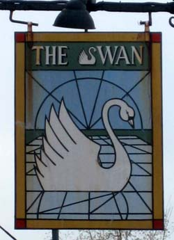 Pub Sign: The Swan
