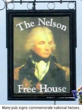 Nelson Pub Sign