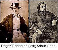 Roger Tichborne and Arthur Orton