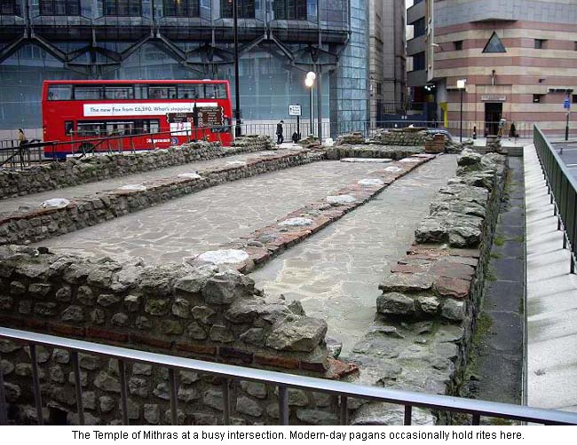 Roman Temple of Mithras in London