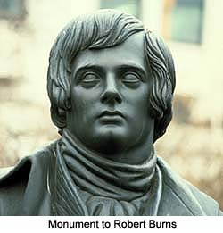 Robert Burns Memorial Westminster Abbey
