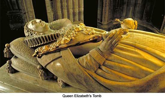 Queen Elizabeth Tomb