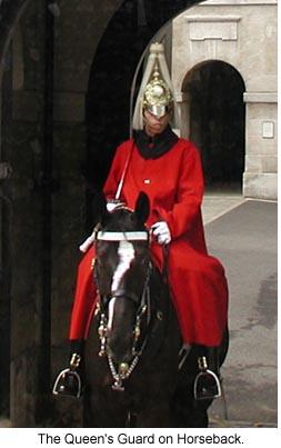 Queen's Guard on Horseback