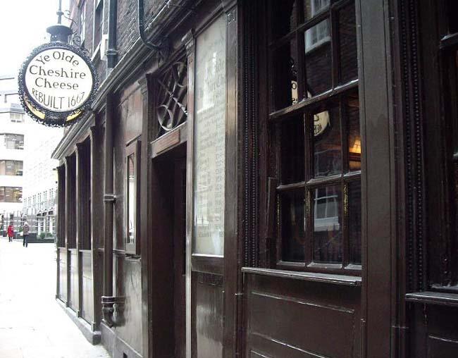 Ye Old Cheshire Cheese Pub