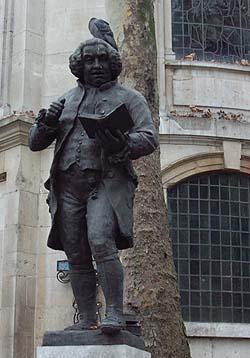 Statue of Samuel Johnson