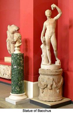 Bacchus Statue