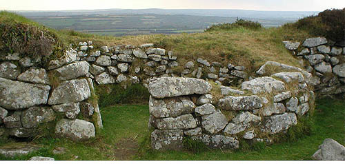 Chysauster Iron Age Village