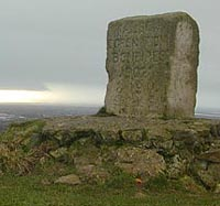 Brent Knoll Marker Stone