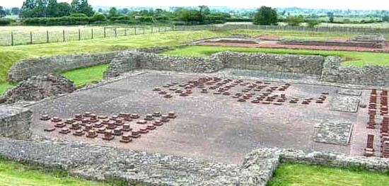 Wroxeter Hypocaust