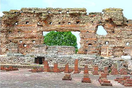 Wroxeter Bathhouse