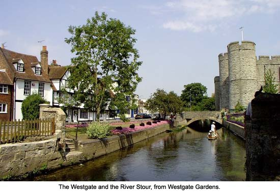 Westgate and the River Stour