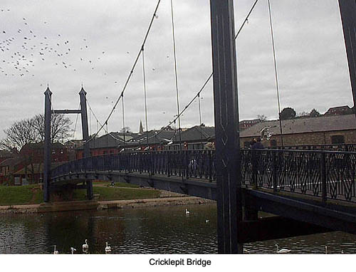 Cricklepit Bridge