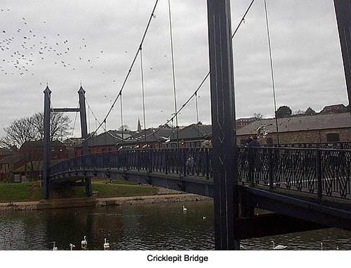 Cricklepit Bridge Exeter