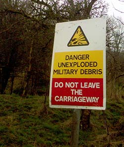 Danger Sign Imber