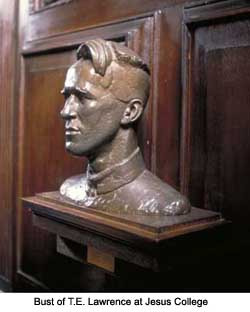 T. E. Lawrence Bust