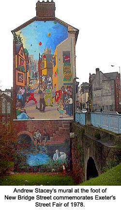 Andrew Stacey Mural Exeter