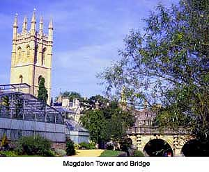 Magdalen Tower Oxford