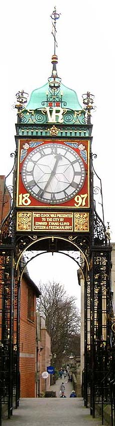 Eastgate Clock Tower Chester