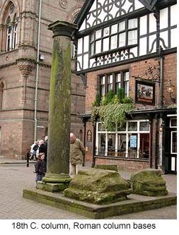 Roman column in Chester